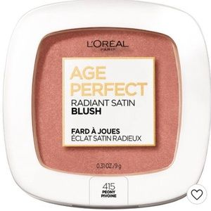 L 'Oreal Paris Age Perfect Satin Blush, Peony, NWT